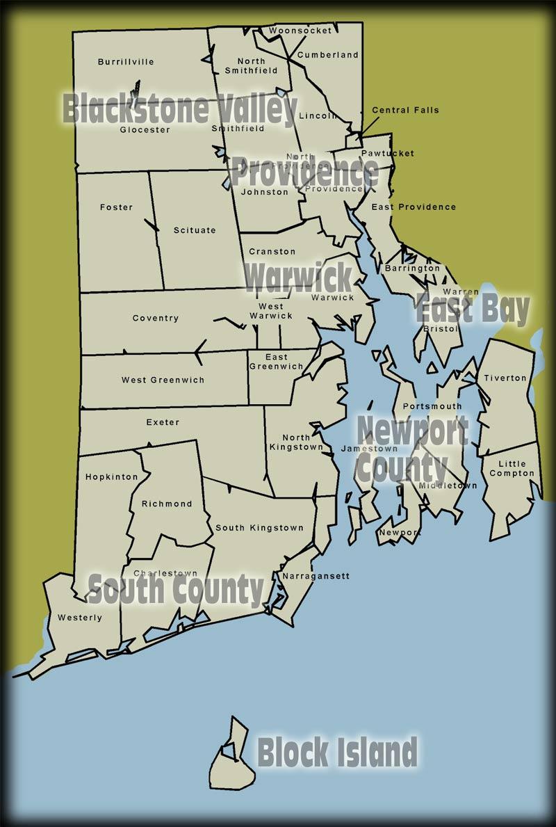 Map Downtown Providence Rhode Islandmap East Providence Rhode Island